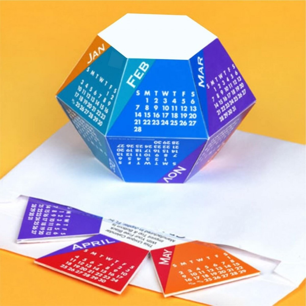 pop up calendar design